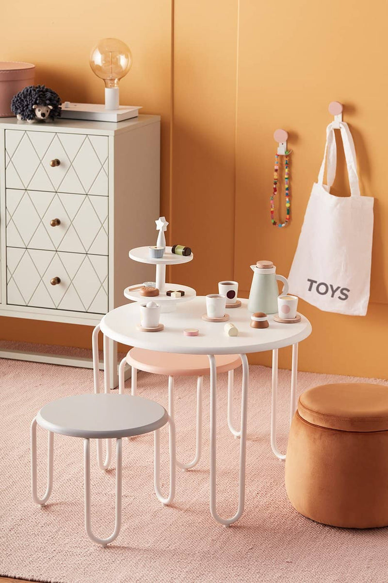 Wooden Toy Cake Stand, Kitchen Toys, Kids Concept - All Mamas Children