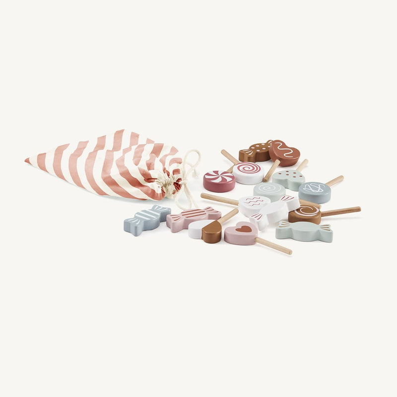 Kid's Concept - Wooden Candy Set, Kitchen Toys, Kids Concept - All Mamas Children