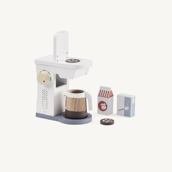 Kid's Concept - Bistro Wooden Coffee Machine Set, Kitchen Toys, Kids Concept - All Mamas Children