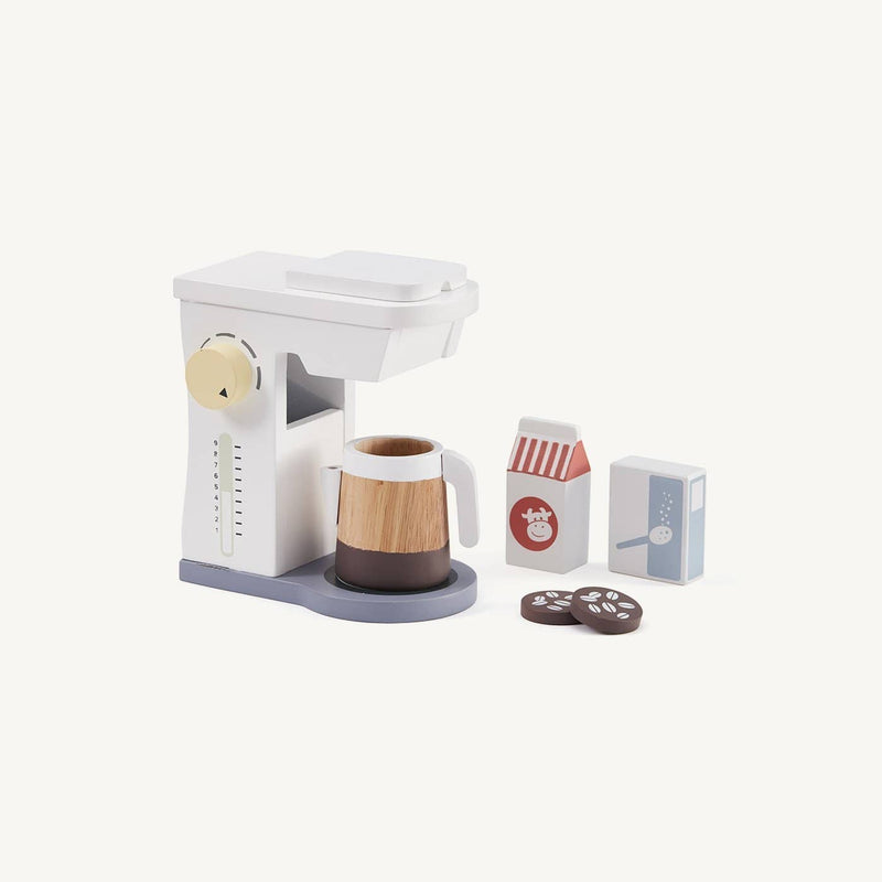 Kid's Concept - Wooden Coffee Machine Set, Kitchen Toys, Kids Concept - All Mamas Children