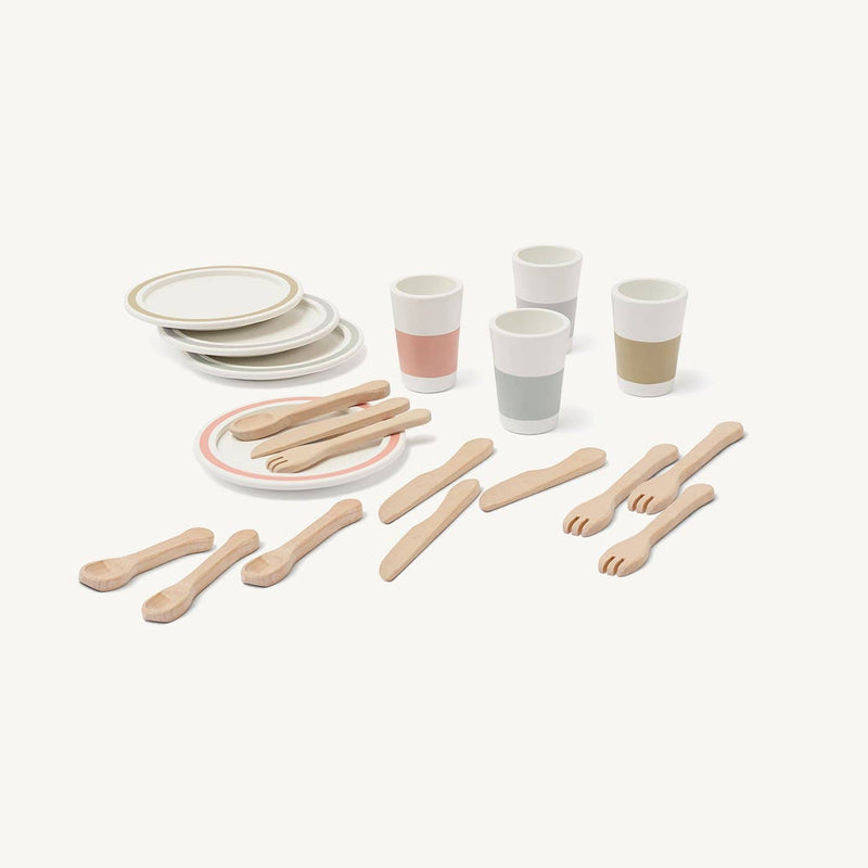Kid's Concept - Bistro Dinnerware Play Set - All Mamas Children