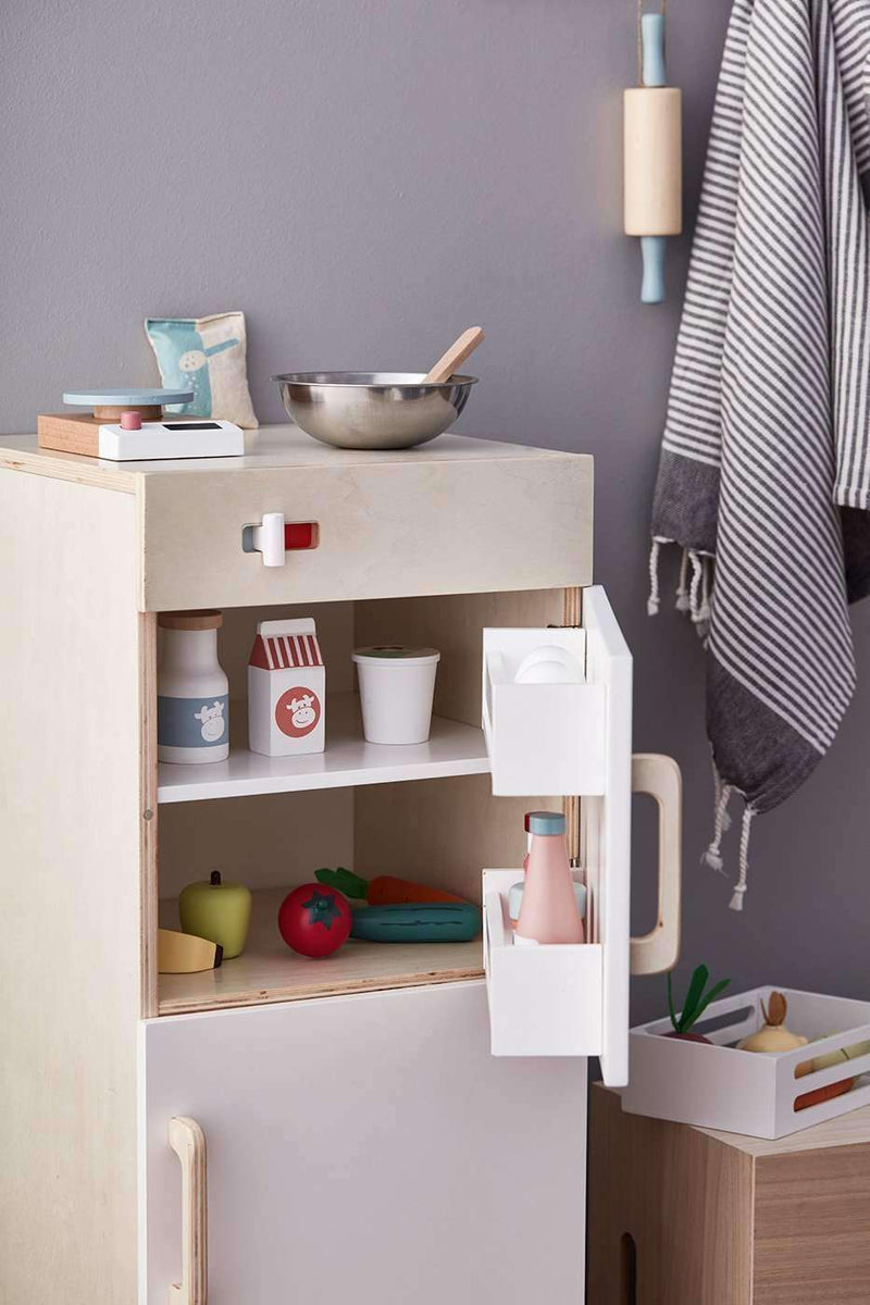 Kid's Concept - Wooden Play Fridge Freezer, Kitchen Toys, Kids Concept - All Mamas Children