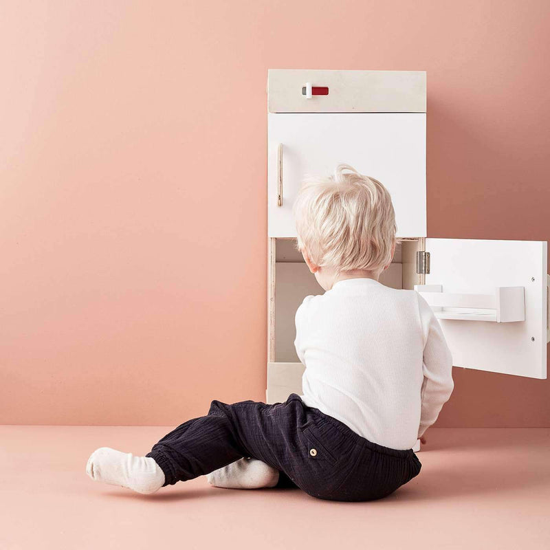 Wooden Play Fridge Freezer, Kitchen Toys, Kids Concept - All Mamas Children