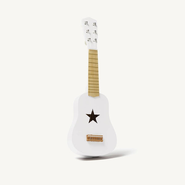 Kid's Concept - Star White Wooden Toy Guitar, Toy Instruments, Kids Concept - All Mamas Children