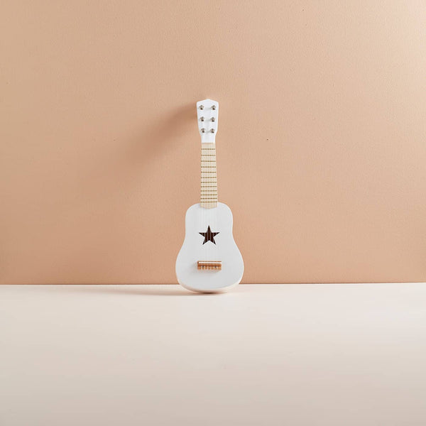 Kid's Concept - Star White Wooden Toy Guitar - All Mamas Children