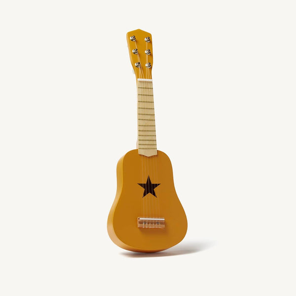 Kid's Concept - Star Yellow Wooden Toy Guitar - All Mamas Children