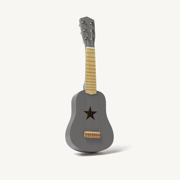 Kid's Concept - Star Dark Grey Wooden Toy Guitar - All Mamas Children