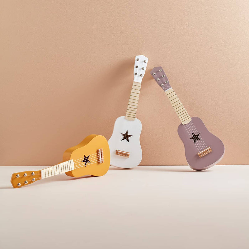 Kid's Concept - Star Lilac Wooden Toy Guitar, Toy Instruments, Kids Concept - All Mamas Children