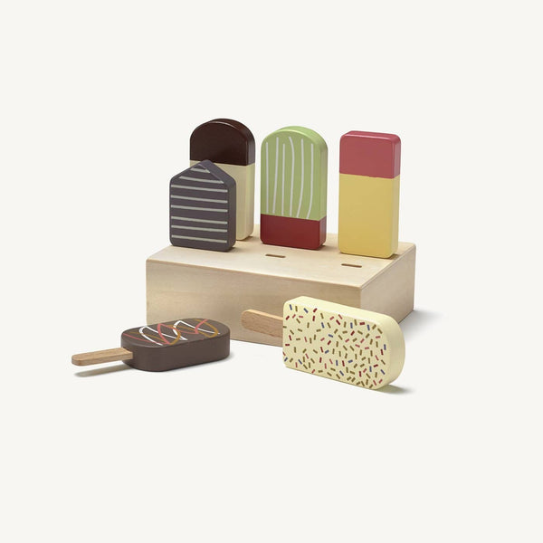 Kid's Concept - Bistro 6 Wooden Toy Ice Lollies - All Mamas Children
