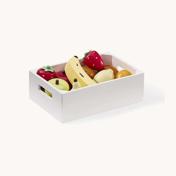 Kid's Concept - Bistro Wooden Toy Mixed Fruit Box, Kitchen Toys, Kids Concept - All Mamas Children