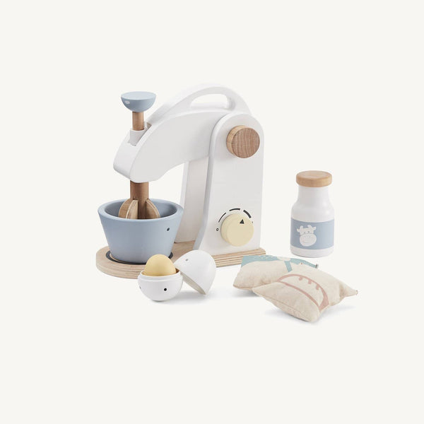 Wooden Mixer Kitchen Play Set, Kitchen Toys, Kids Concept - All Mamas Children