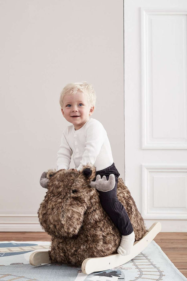 Rocking Ride On Moose, Rocking Horse, Kids Concept - All Mamas Children