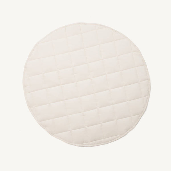 Kid's Concept - Quilted Cotton Play Mat Off White - All Mamas Children
