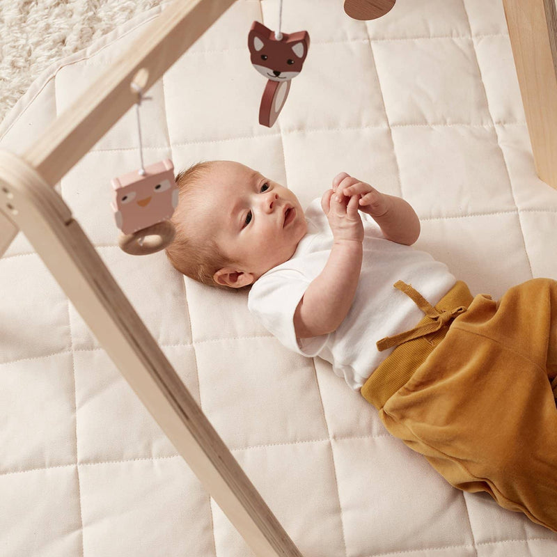 Kid's Concept - Quilted Cotton Play Mat Off White, Playmat, Kids Concept - All Mamas Children