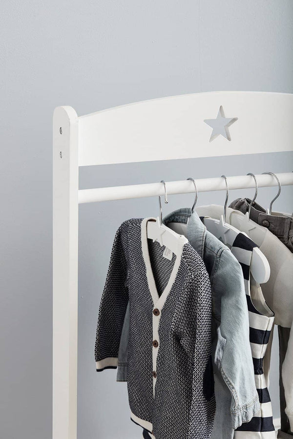 Kid's Concept - Star White Hanger, Clothing Rail, Kids Concept - All Mamas Children