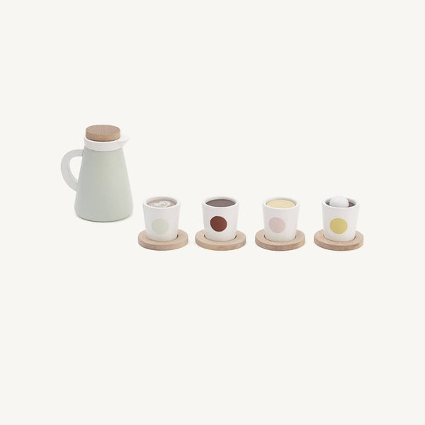 Kid's Concept - Bistro Wooden Toy Swedish 'Fika' Coffee Set - All Mamas Children