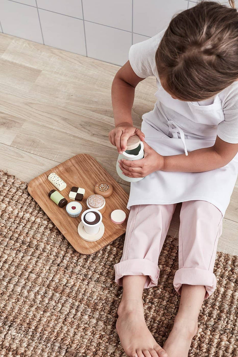 Kid's Concept - Bistro Wooden Toy Swedish 'Fika' Coffee Set, Kitchen Toys, Kids Concept - All Mamas Children