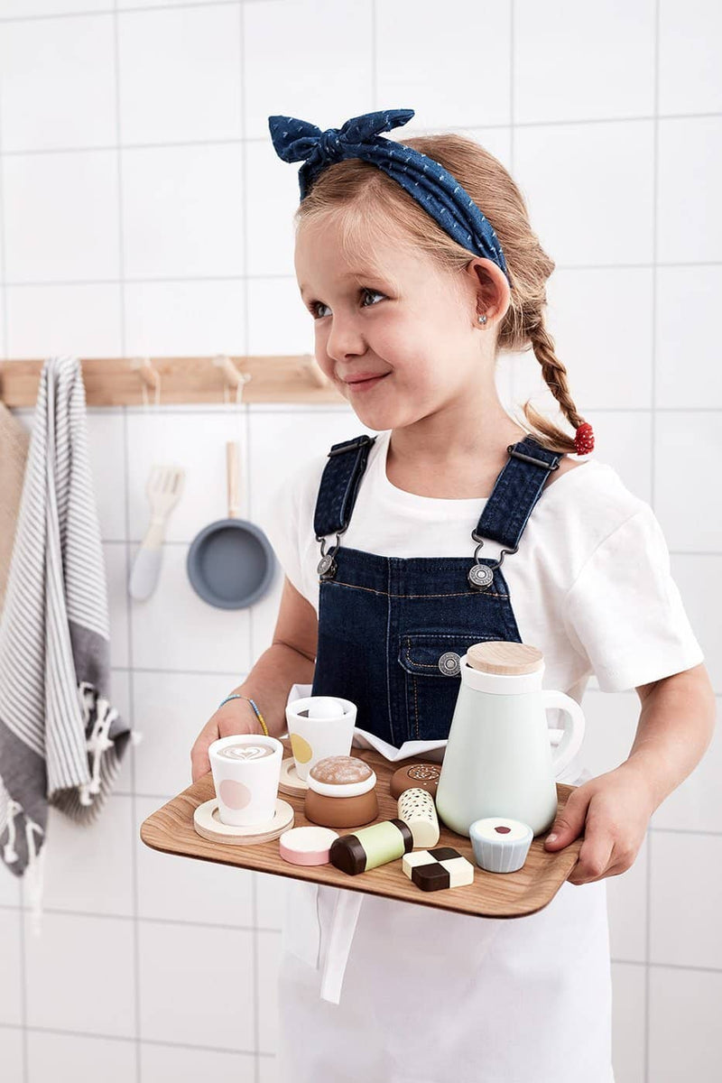 Kid's Concept - Wooden Toy Swedish 'Fika' Coffee Set, Kitchen Toys, Kids Concept - All Mamas Children