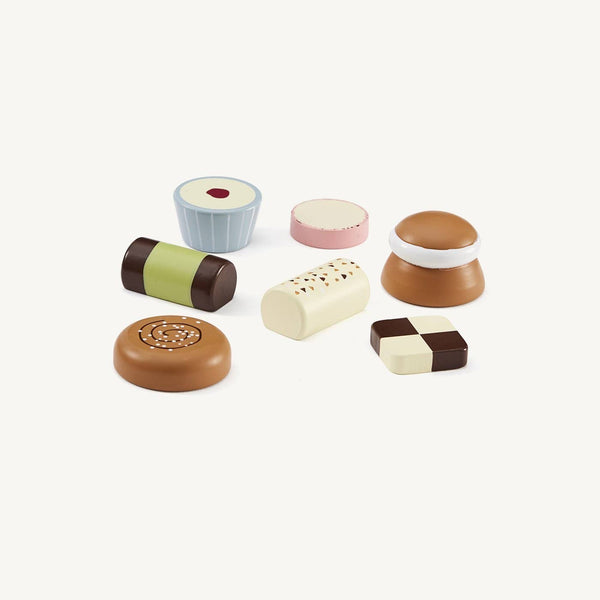 Wooden Toy 'Fika' Sweet Treats and Cakes, Kitchen Toys, Kids Concept - All Mamas Children