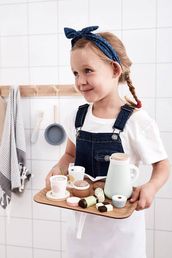 Kid's Concept - Wooden Toy 'Fika' Sweet Treats and Cakes, Kitchen Toys, Kids Concept - All Mamas Children