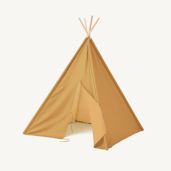 Kid's Concept - Tipi / Teepee Play Tent Yellow - All Mamas Children