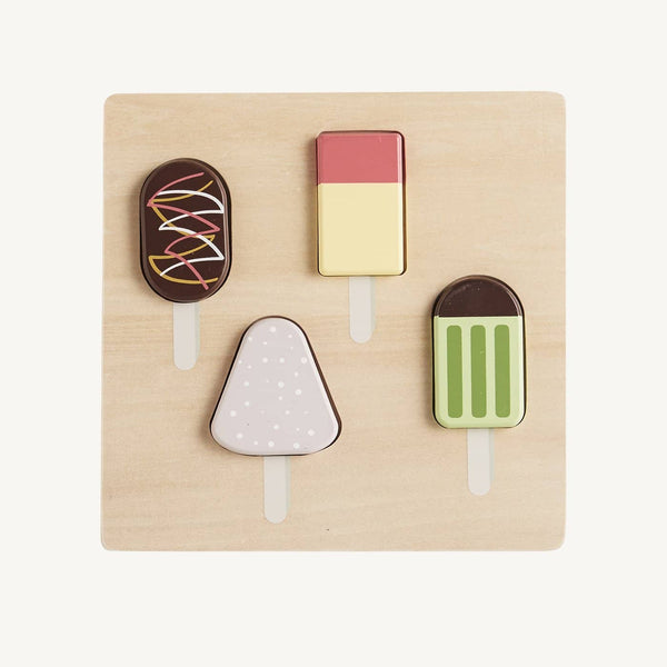 Kid's Concept - Bistro Wooden Ice Cream Puzzle, Puzzle, Kids Concept - All Mamas Children