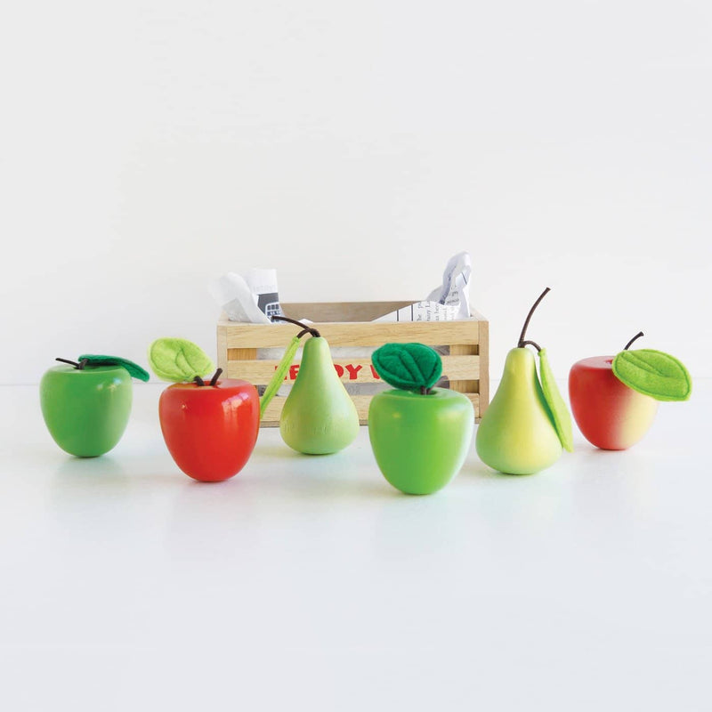 Le Toy Van - Honeybee Apples and Pears Market Crate, Pretend Play, Le Toy Van - All Mamas Children