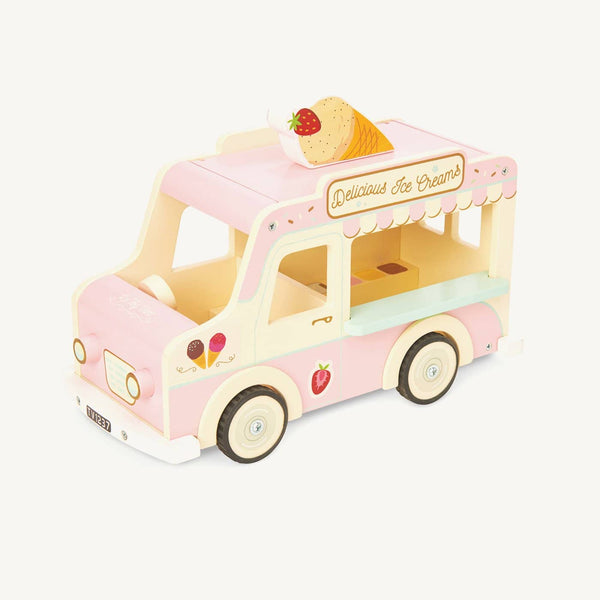 Le Toy Van - Wooden Dolly Ice Cream Van, Pretend Play, Le Toy Van - All Mamas Children