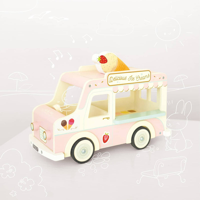 Le Toy Van - Wooden Dolly Ice Cream Van - All Mamas Children