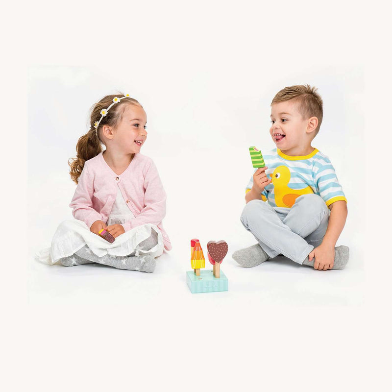 Le Toy Van - Honeybake Wooden Ice Lollies, Pretend Play, Le Toy Van - All Mamas Children