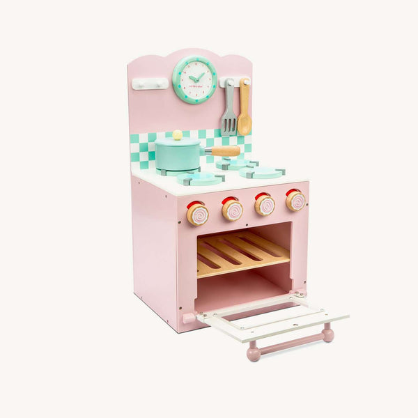 Le Toy Van - Honeybake Wooden Oven & Hob Set - Pink, Pretend Play, Le Toy Van - All Mamas Children
