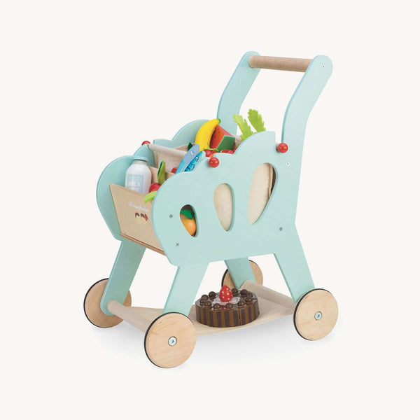 Le Toy Van - Honeybake Wooden Shopping Trolley, Pretend Play, Le Toy Van - All Mamas Children