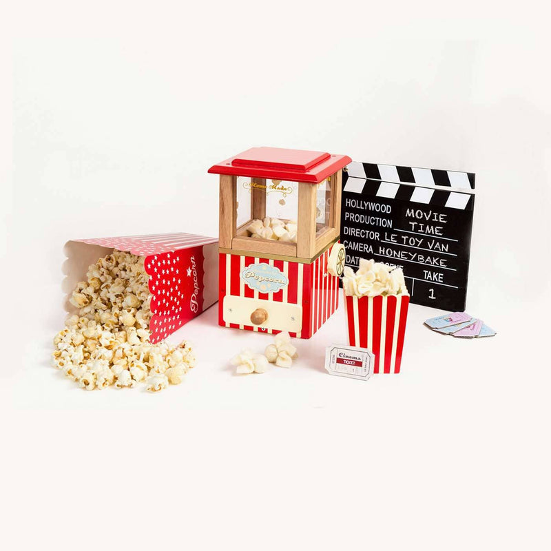 Le Toy Van - Honeybake Wooden Popcorn Machine, Pretend Play, Le Toy Van - All Mamas Children