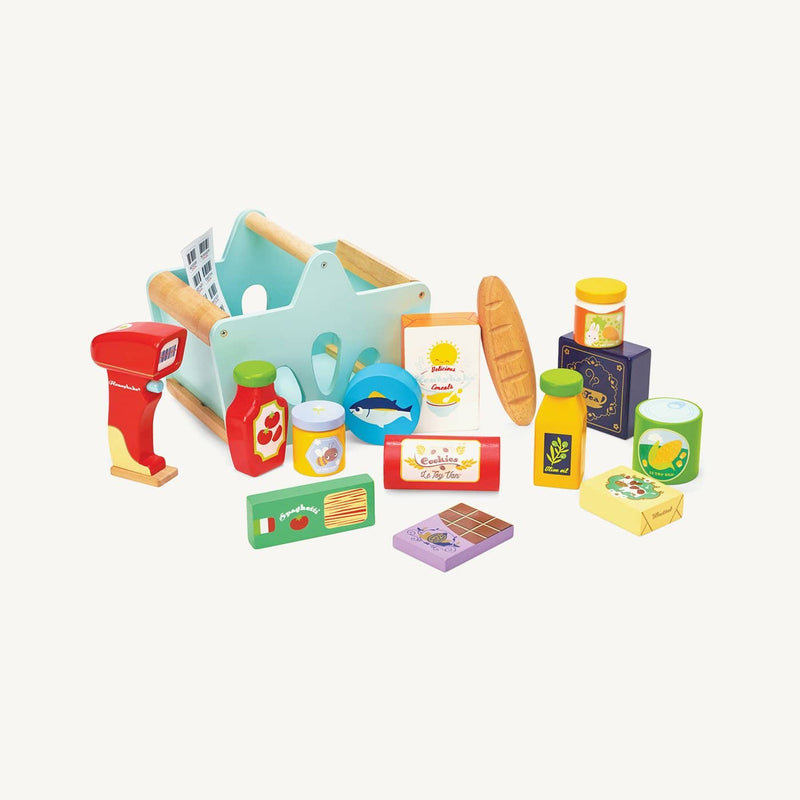 Le Toy Van - Honeybake Wooden Grocery Set & Scanner - All Mamas Children