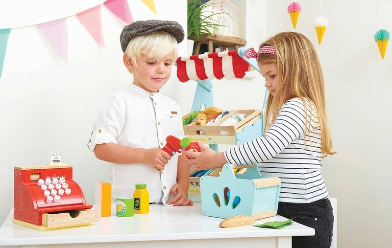 Le Toy Van - Honeybake Wooden Grocery Set & Scanner, Pretend Play, Le Toy Van - All Mamas Children