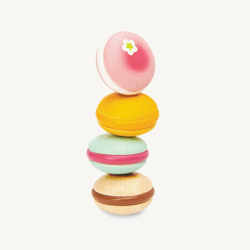 Le Toy Van - Honeybake Wooden Macarons, Pretend Play, Le Toy Van - All Mamas Children