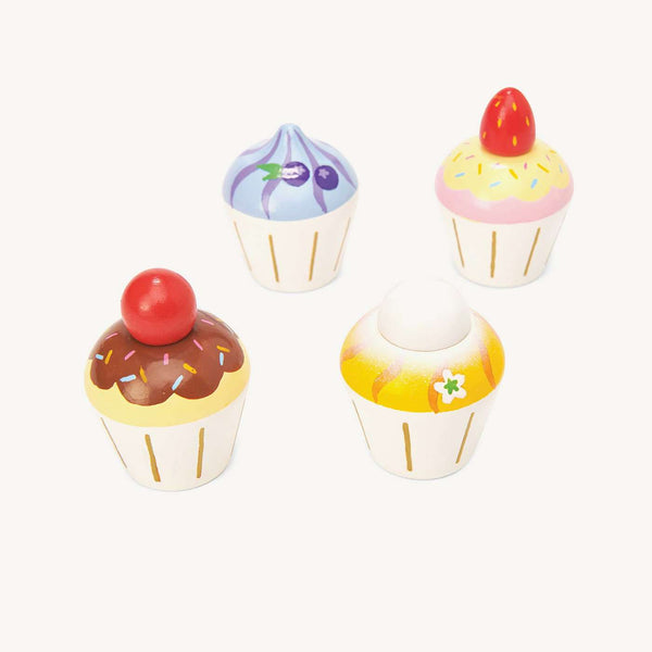 Le Toy Van - Honeybake Wooden Cupcakes, Pretend Play, Le Toy Van - All Mamas Children