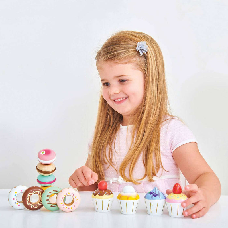 Le Toy Van - Honeybake Wooden Cupcakes - All Mamas Children