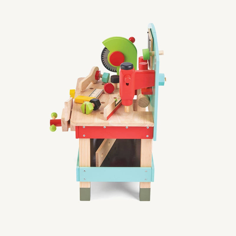 Le Toy Van - My First Wooden Tool Bench, Pretend Play, Le Toy Van - All Mamas Children