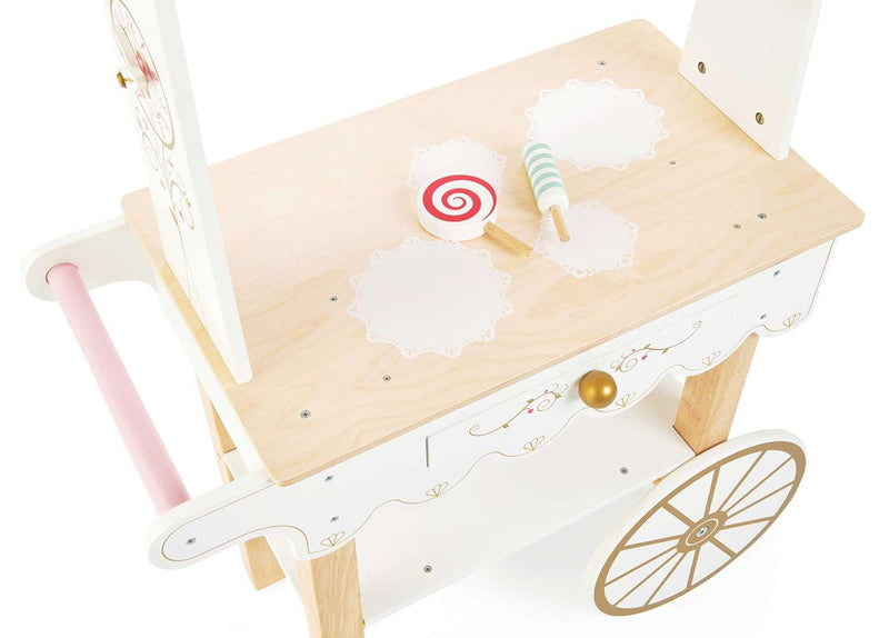 Le Toy Van - Honeybake Wooden Tea & Treats Trolley, Pretend Play, Le Toy Van - All Mamas Children