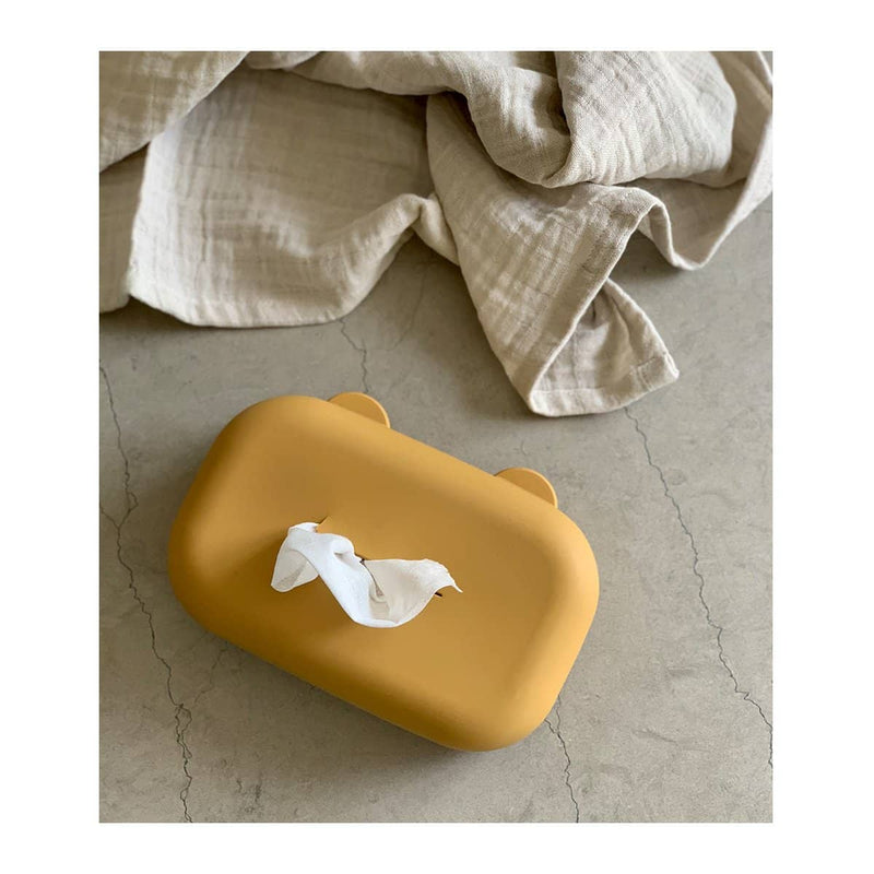 Liewood - Emi Wet Wipes Cover - Mustard - All Mamas Children