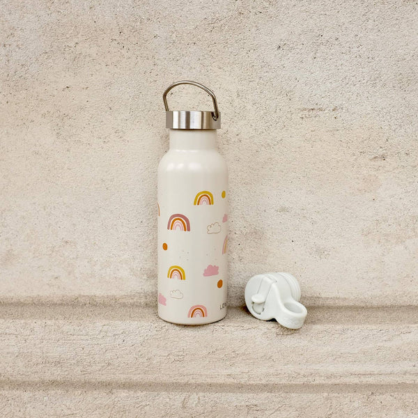 Liewood - Neo Water Bottle - 500 ml Rainbow Love Mix - All Mamas Children