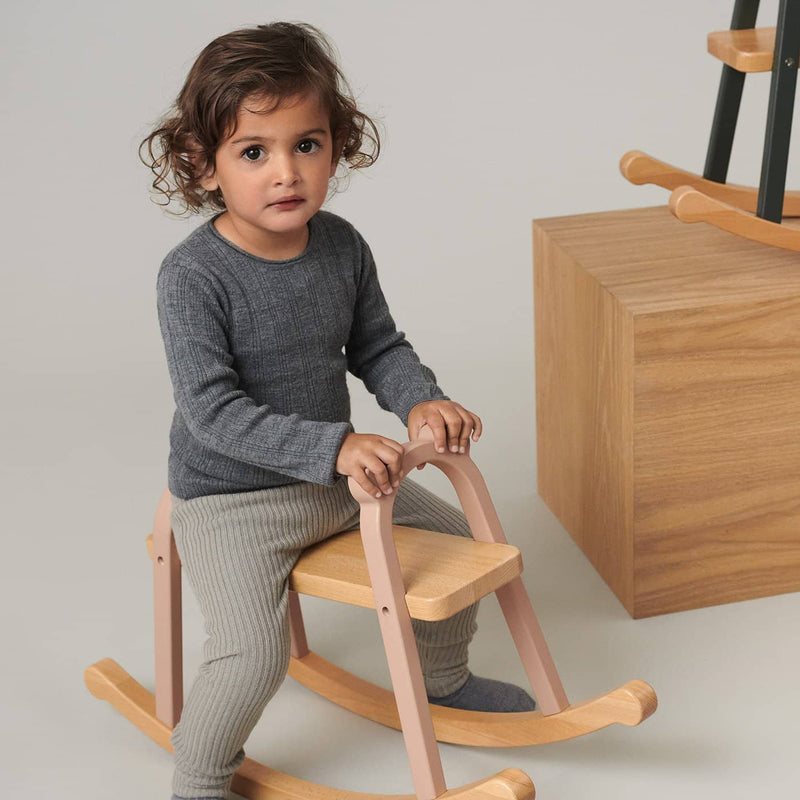 Liewood - Lina Rocking Horse - Dark Rose - All Mamas Children