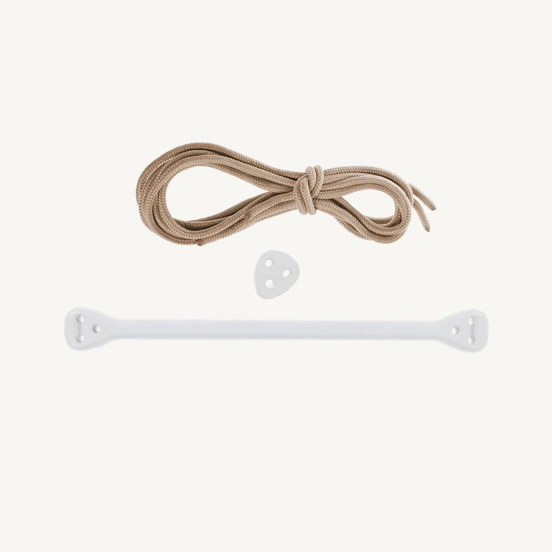 LILLAGUNGA Bone - White Birch with Beige Ropes - All Mamas Children