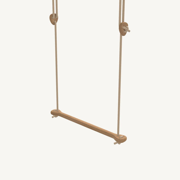 LILLAGUNGA Bone - Oak with Beige Ropes, Swing, Lillagunga - All Mamas Children