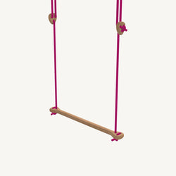 LILLAGUNGA Bone - Oak with Fuchsia Ropes, Swing, Lillagunga - All Mamas Children