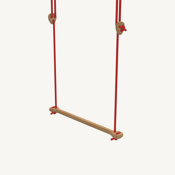 LILLAGUNGA Bone - Oak with Red Ropes, Swing, Lillagunga - All Mamas Children