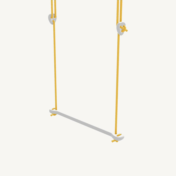 LILLAGUNGA Bone - White Birch with Yellow Ropes, Swing, Lillagunga - All Mamas Children