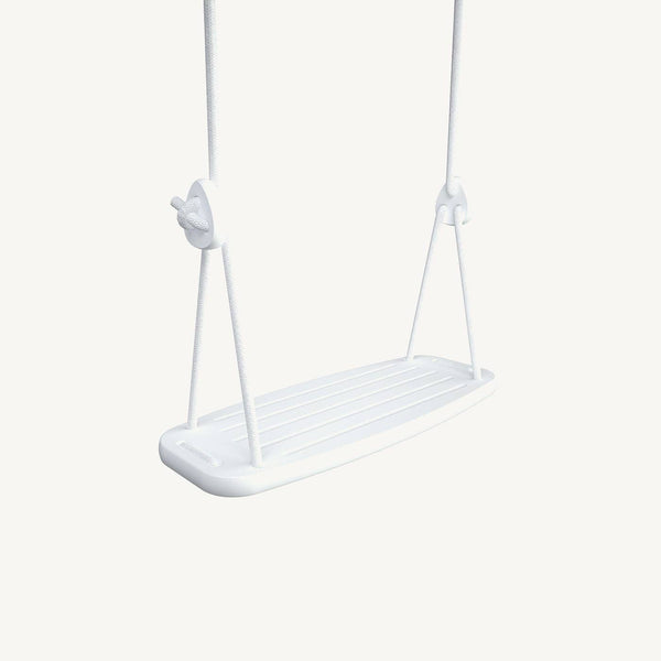 LILLAGUNGA Classic Swing - White Birch with White Ropes, Swing, Lillagunga - All Mamas Children
