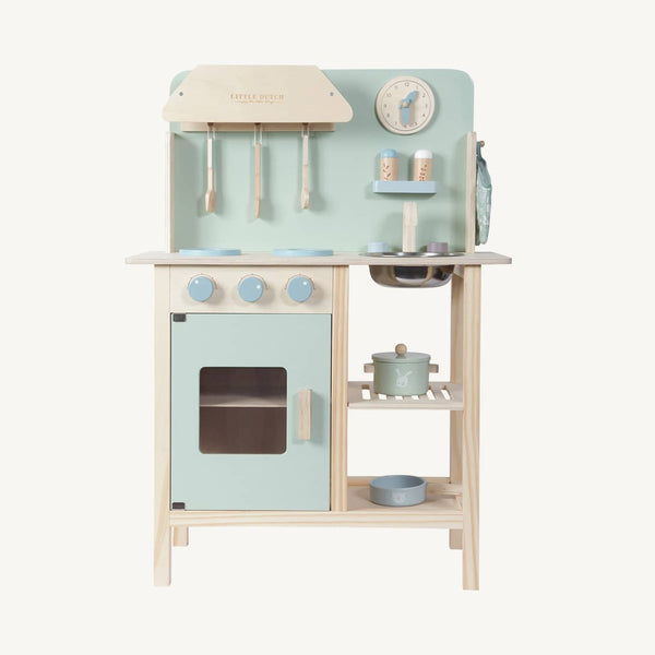 Little Dutch - Wooden Kitchen in Mint - All Mamas Children